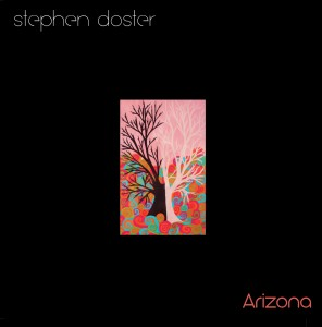 Cover art for Stephen Doster's album Arizona, featuring a painting by Django Doster.